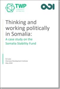 Somalia Stability Fund case study