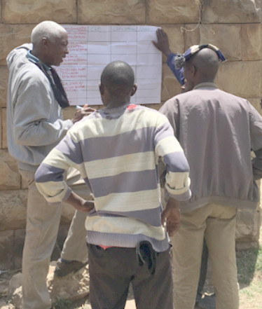 Fieldwork - evidence gathering